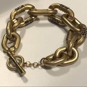 Kenneth Cole New York Chain Link Toggle Bracelet